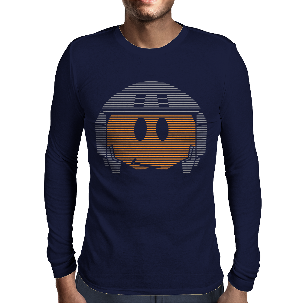 Johnny Rico Smiley Face Starship Troopers Mens Long Sleeve T-Shirt