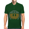 Johnny Rico Smiley Face Starship Troopers Mens Polo