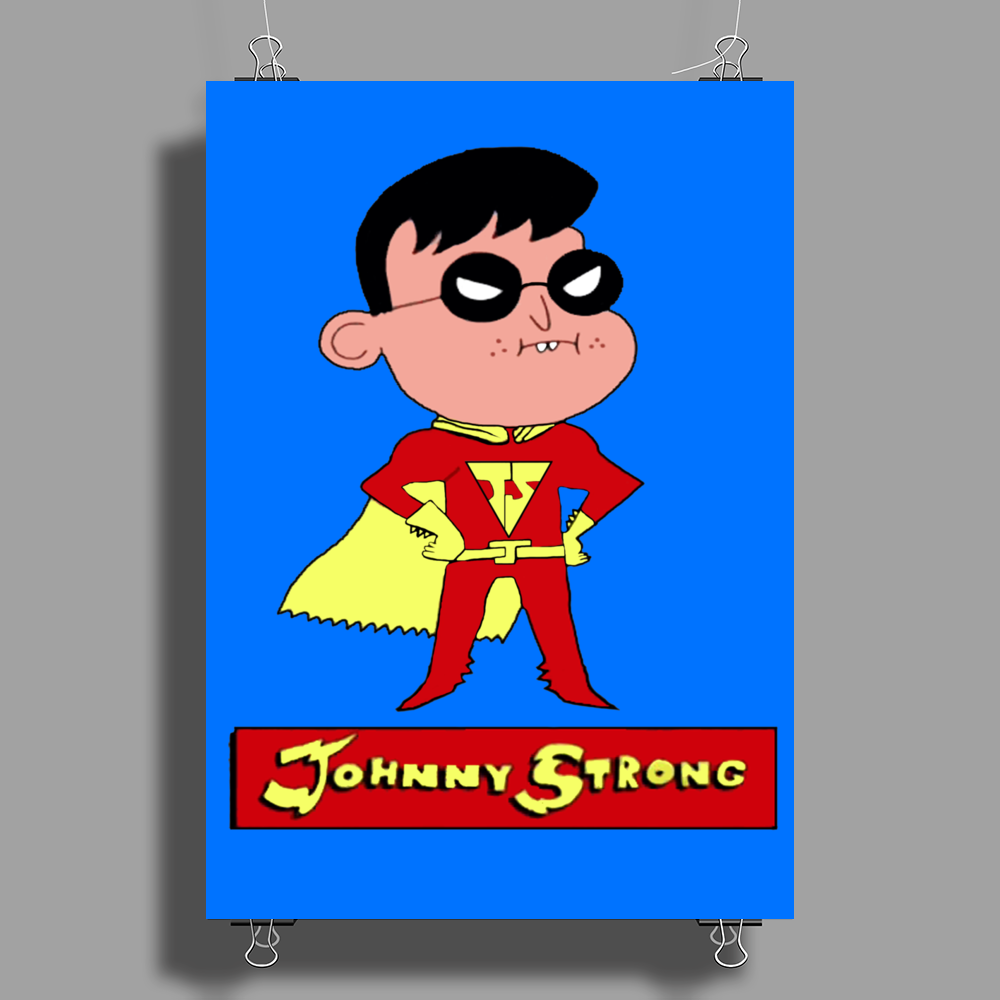 Johnny Strong Poster Print (Portrait)