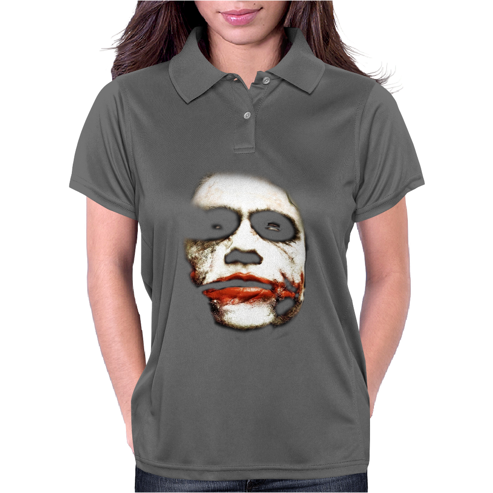 Joker Batman Dark Knight Face Womens Polo
