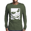 Joker Face Mens Long Sleeve T-Shirt