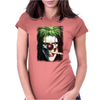 Joker Magic Weed Ganja Mary Jane Mariguana Funny Womens Fitted T-Shirt