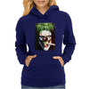 Joker Magic Weed Ganja Mary Jane Mariguana Funny Womens Hoodie