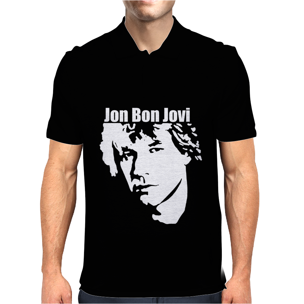 Jon Bon Jovi Mens Polo
