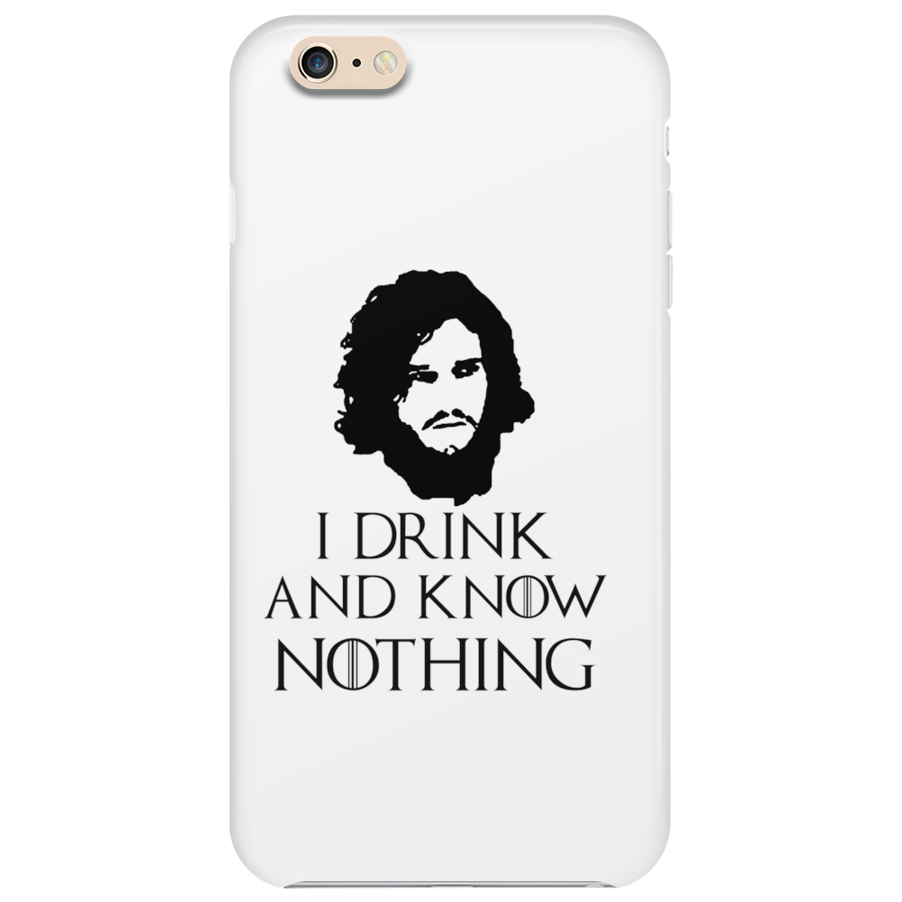 JON SNOW GAME OF THRONES TYRION LANNISTER DRINK AND KNOW THINGS Phone Case