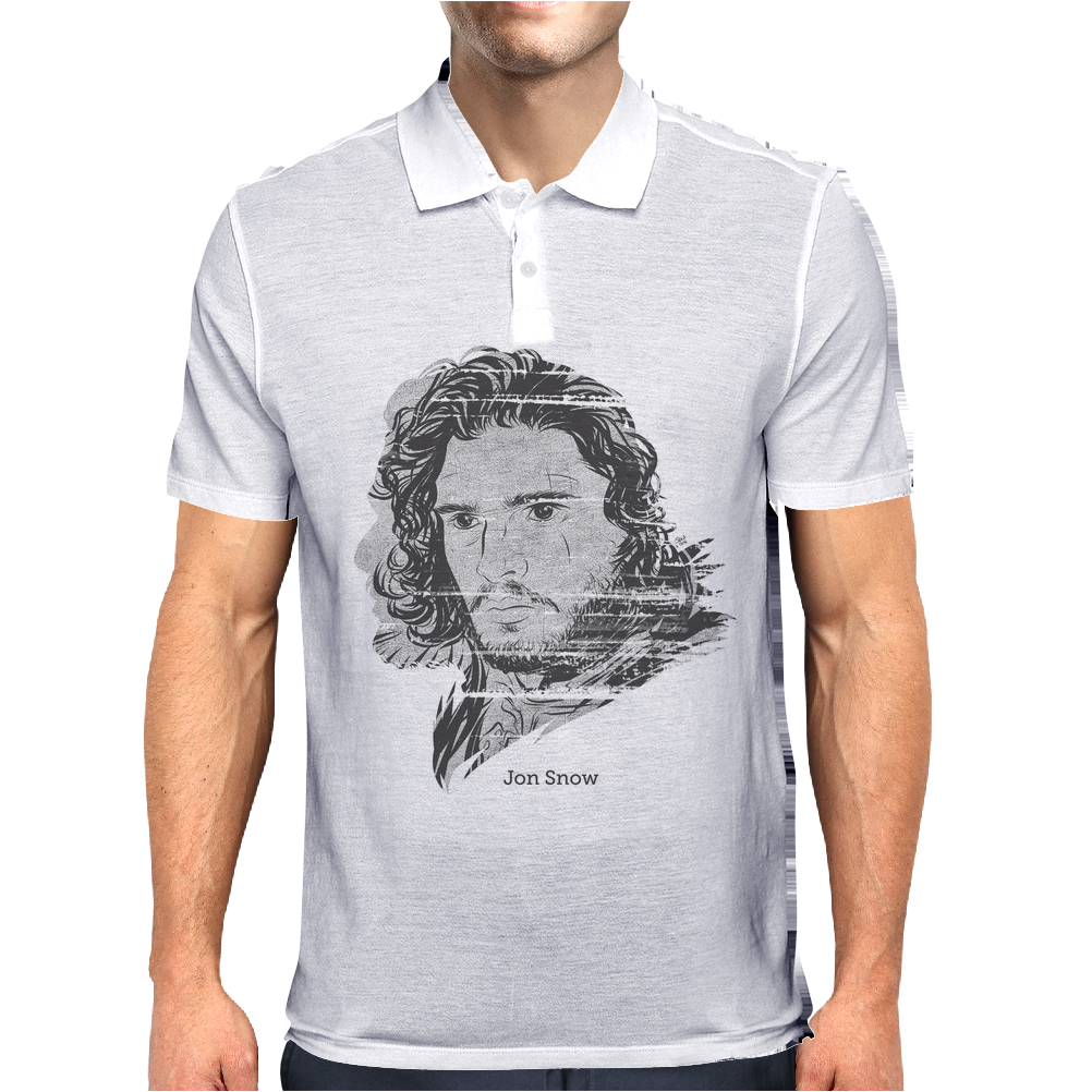 Jon Snow Mens Polo