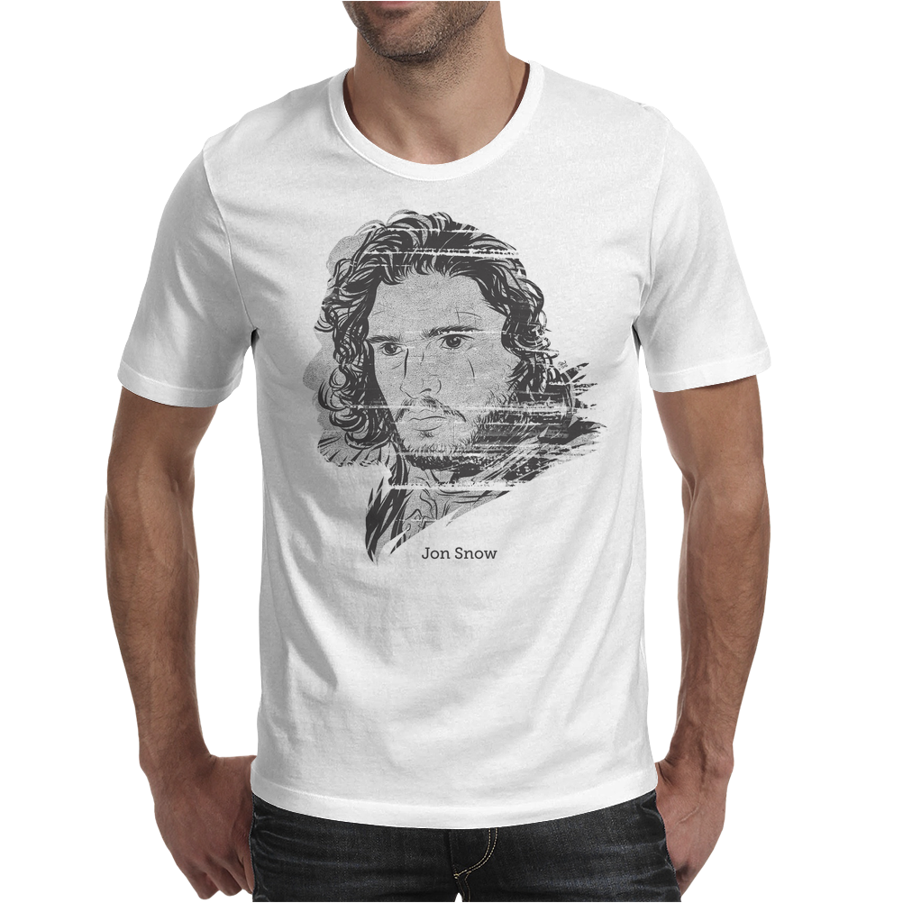 Jon Snow Mens T-Shirt