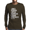 Jones Hendrix Morrison Joplin Cobain.. Mens Long Sleeve T-Shirt