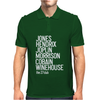 Jones Hendrix Morrison Joplin Cobain.. Mens Polo