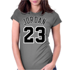 Jordan 23 Black Womens Fitted T-Shirt