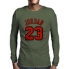 Jordan 23 Michael Jordan Jersey Mens Long Sleeve T-Shirt