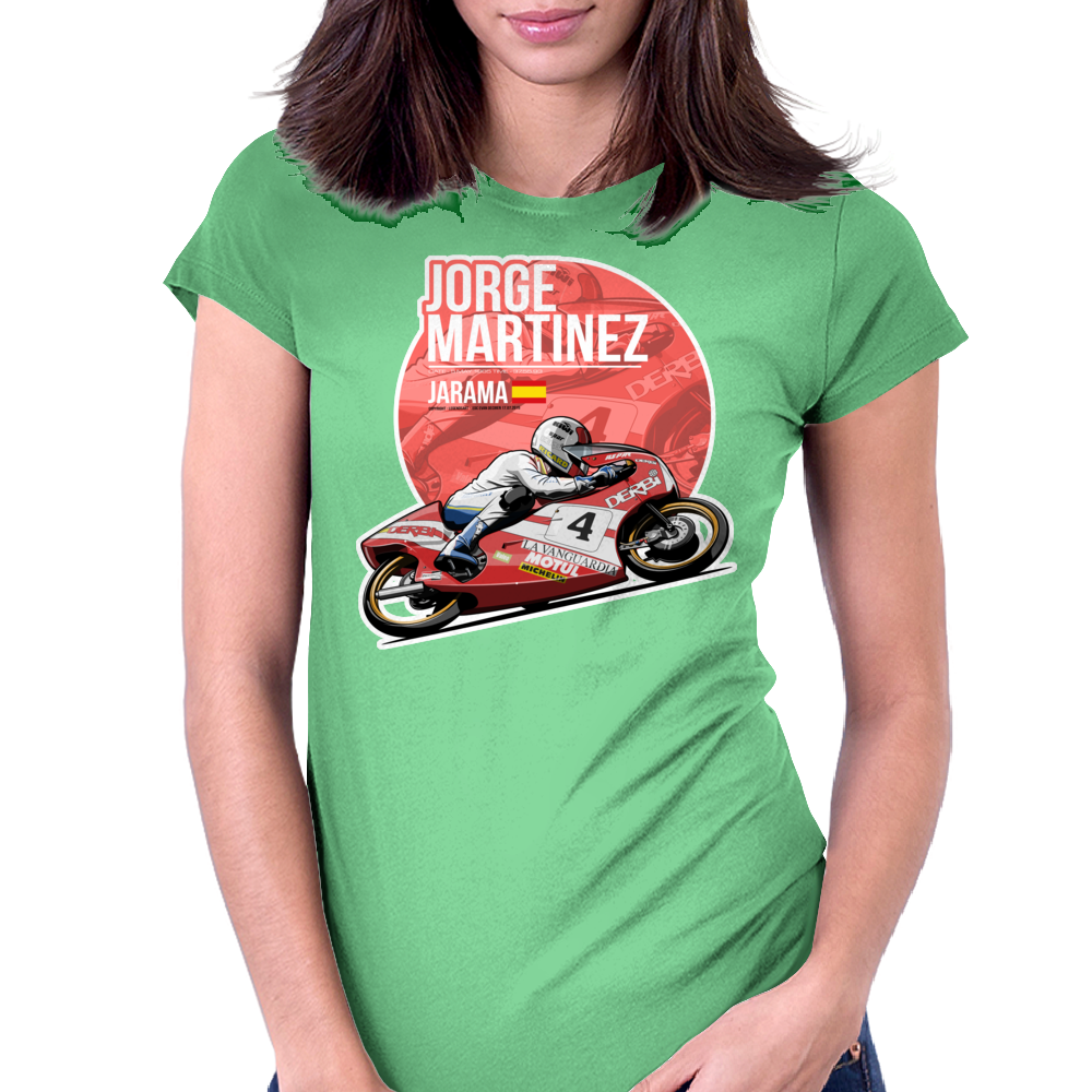 Jorge Martinez - 1985 Jarama Womens Fitted T-Shirt