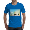 Journey with Turtle Mens T-Shirt