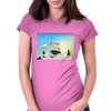 Journey with Turtle Womens Fitted T-Shirt