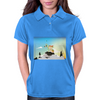 Journey with Turtle Womens Polo