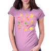 Joyful Autumn Leaves Womens Fitted T-Shirt