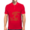Jozef Rabbit Red Mens Polo