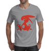 Jozef Rabbit Red Mens T-Shirt