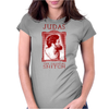 JUDAS, the original snitch. Womens Fitted T-Shirt