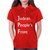 Judean Peoples Front Womens Polo