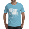 Juko I'm A Rugby And Wine Kinda Girl Hoodie Funny Mens T-Shirt