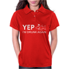 Juko Men's Yep I'm Drunk Again Funny Womens Polo