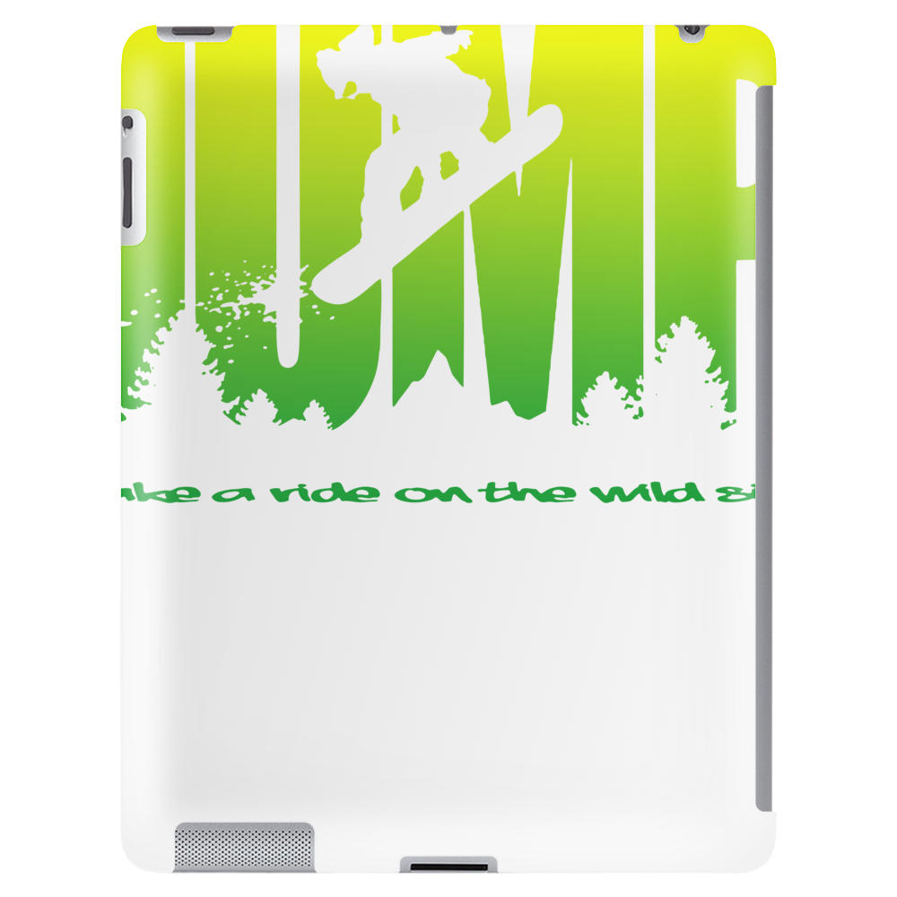 Jump Snowboarder Tablet