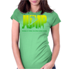 Jump Snowboarder Womens Fitted T-Shirt