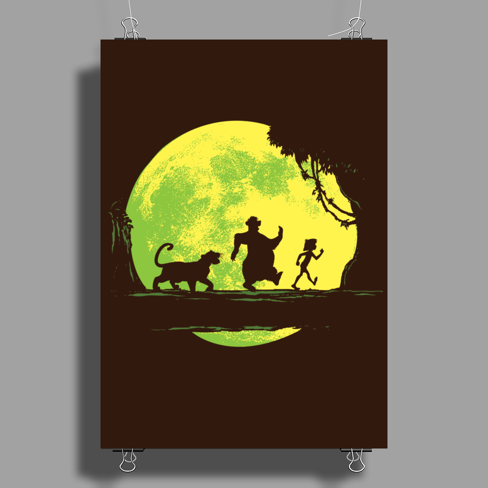 Jungle Moonwalk Poster Print (Portrait)