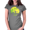 Jungle Moonwalk Womens Fitted T-Shirt