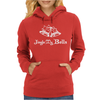 Jungle My Bell Funny Christmas Womens Hoodie