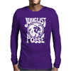 JUNGLIST REGGAE Mens Long Sleeve T-Shirt