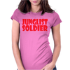 JUNGLIST SOLDIER Womens Fitted T-Shirt