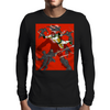 Junker Versus The Ninja Mens Long Sleeve T-Shirt