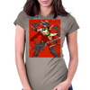 Junker Versus The Ninja Womens Fitted T-Shirt