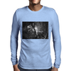 Jurrasic Abe Mens Long Sleeve T-Shirt