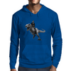 Jurrasic Abe (no background) Mens Hoodie