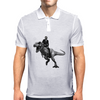 Jurrasic Abe (no background) Mens Polo