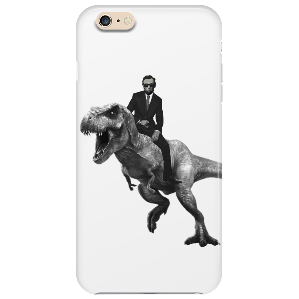 Jurrasic Abe (no background) Phone Case
