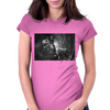 Jurrasic Abe Womens Fitted T-Shirt