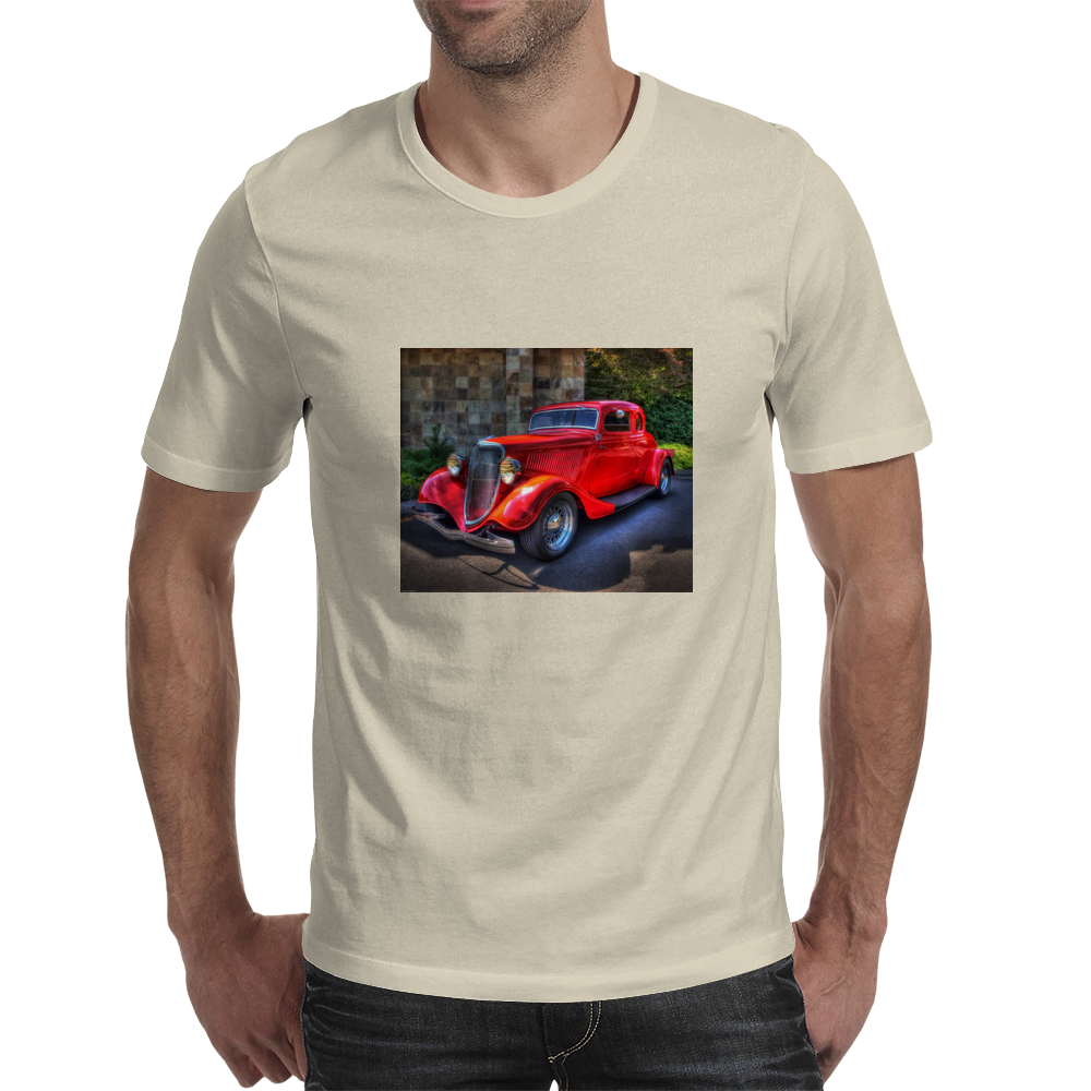 Just A Red 34 Chevy! Mens T-Shirt