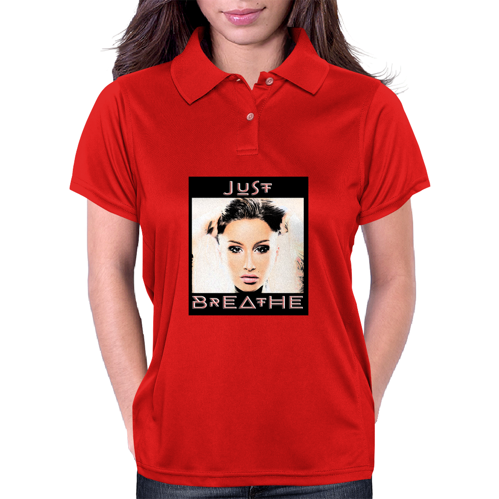 Just Breathe Womens Polo