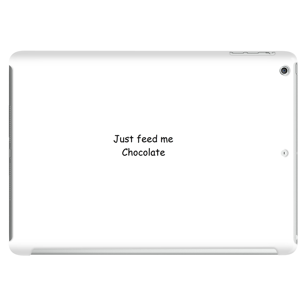Just Feed Me Choclolate Tablet (horizontal)
