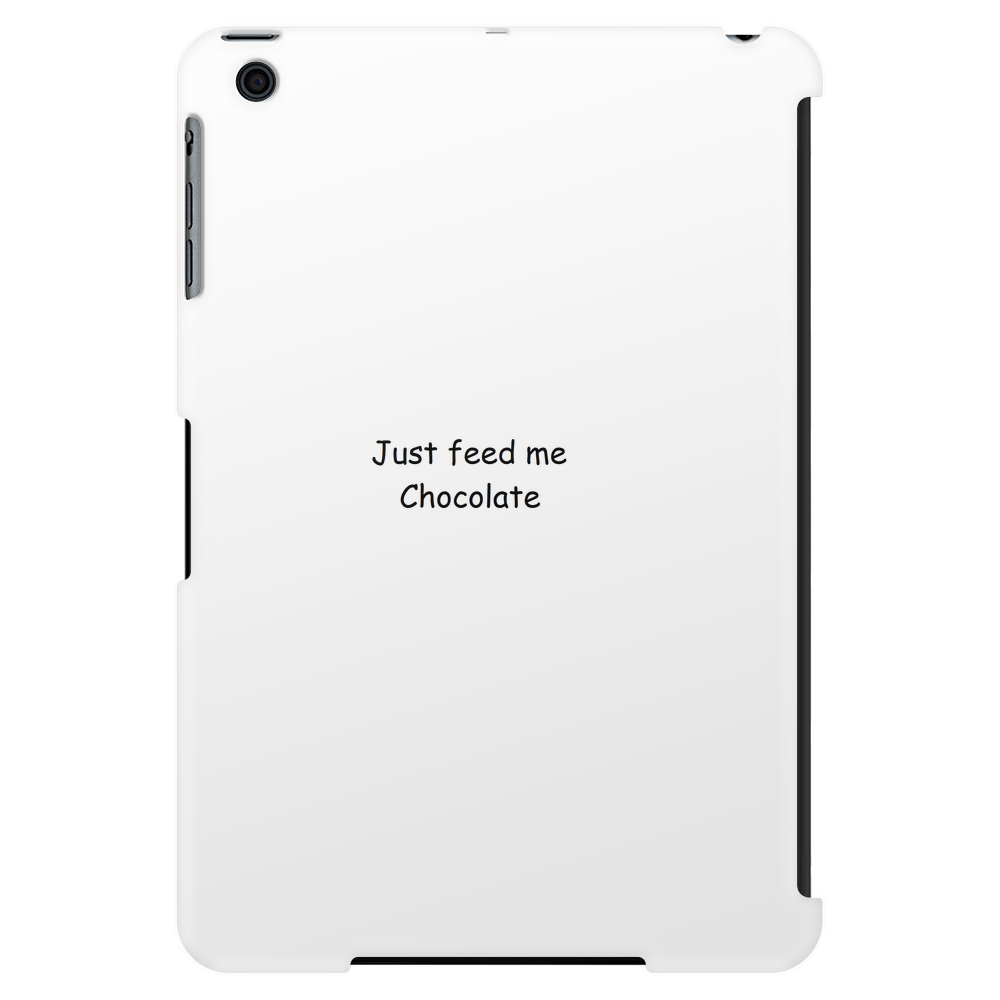 Just Feed Me Choclolate Tablet (vertical)