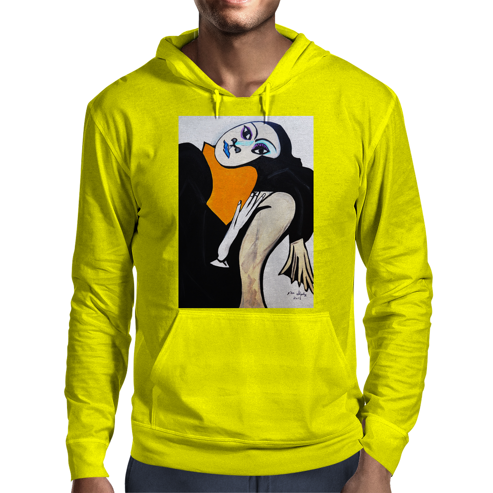 JUST HANGING OUT  PICASSO BY NORA Mens Hoodie