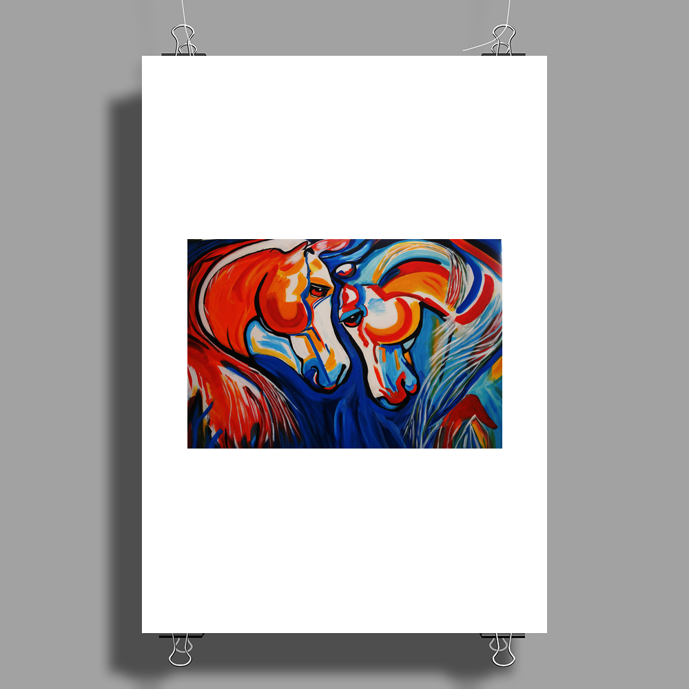 JUST HOTSING AROUND Poster Print (Portrait)