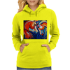 JUST HOTSING AROUND Womens Hoodie