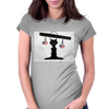 Just, it's an illusion Womens Fitted T-Shirt