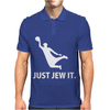Just Jew It  Funny Comic Religious Comedy Sport Mens Polo