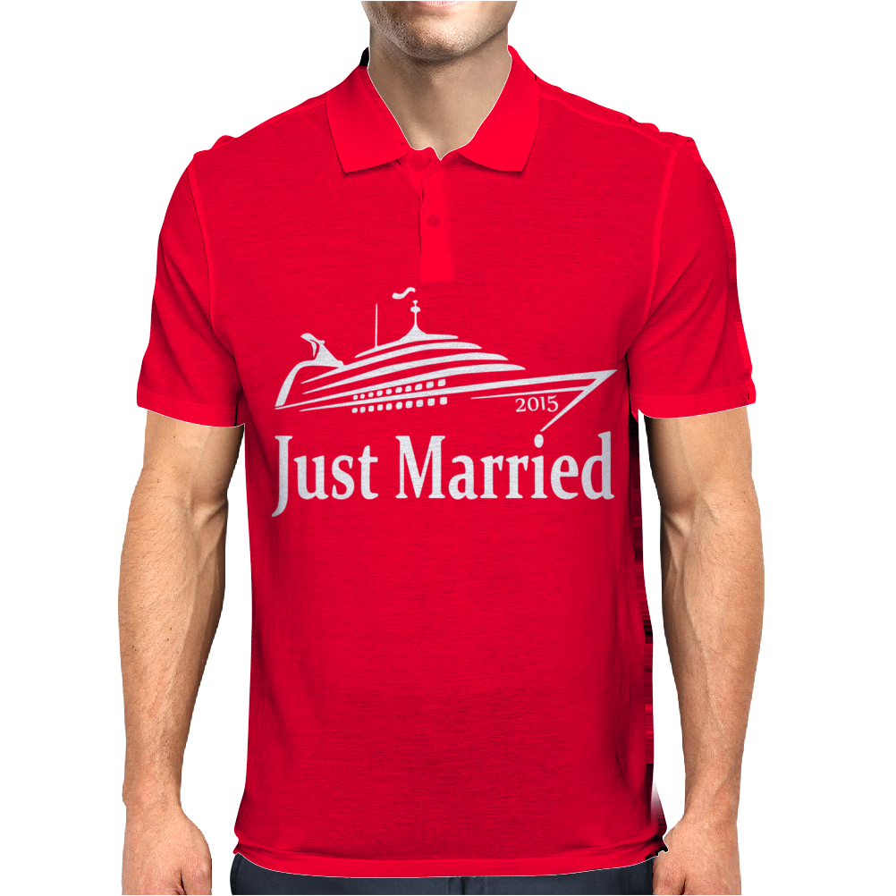 Just Married 2015 Mens Polo